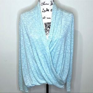 Wrap Front High-low Top Size L